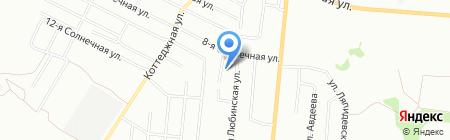ВИК на карте Омска