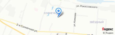 Детский сад №119 на карте Омска