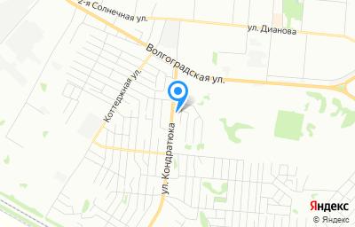 Местоположение на карте пункта техосмотра по адресу г Омск, ул Кондратюка, д 28