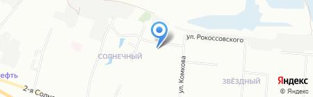 Частный детский сад №260 на карте Омска