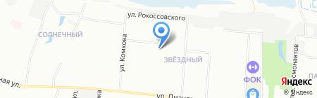 Средняя общеобразовательная школа №36 на карте Омска
