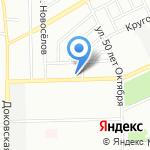 Киоск фастфудной продукции на карте Омска