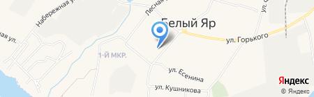 Западно-Сибирский банк Сбербанка России на карте Барсово
