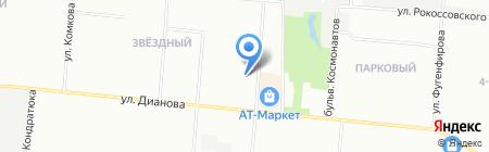 Факториал-Сиб на карте Омска