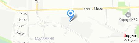 ВегаМебель на карте Омска