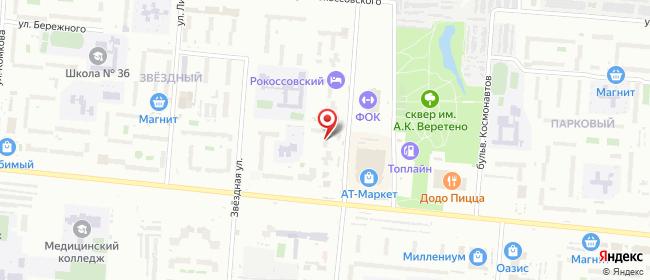Карта расположения пункта доставки Омск Дианова в городе Омск