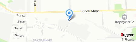 Пакс-металл на карте Омска