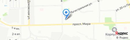 Весна на карте Омска