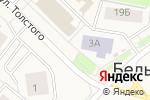 Схема проезда до компании Киоск по продаже пончиков в Белом Яре