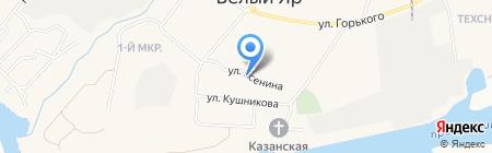 Ателье на ул. Есенина на карте Барсово