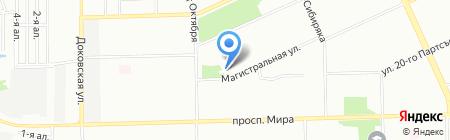 Ермак на карте Омска