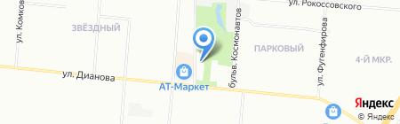 АЗС Топ Лайн на карте Омска