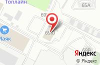 Схема проезда до компании ВИК-Медиа. Омск в Омске