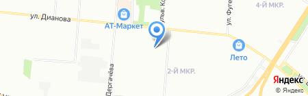 Для милых дам на карте Омска