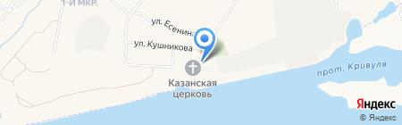 Почтовое отделение на карте Барсово