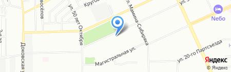 Средняя общеобразовательная школа №98 на карте Омска