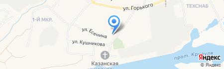 УПЖС на карте Барсово