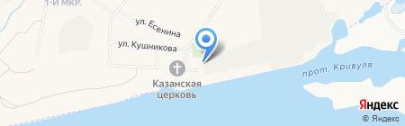 Сургутские районные электрические сети на карте Барсово