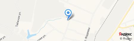 Администрация городского поселения Белый Яр на карте Барсово