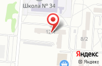 Схема проезда до компании Гор в Омске