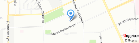 Детский сад №77 на карте Омска