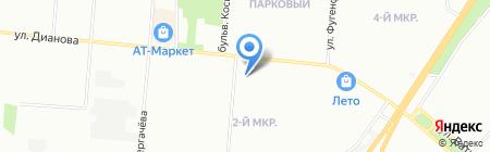 Успех на карте Омска