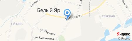 Магазин автозапчастей на карте Барсово