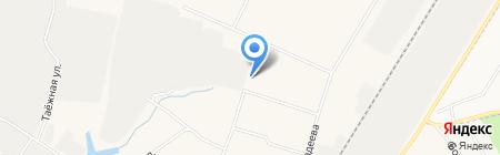 Средняя общеобразовательная школа №3 на карте Барсово