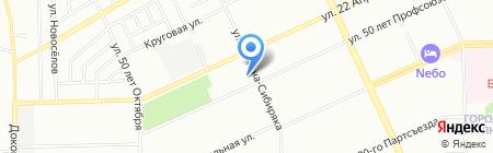 Детская школа искусств №3 на карте Омска