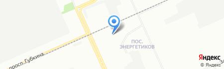 Анкор на карте Омска