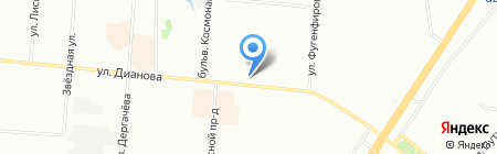 Пив & ко на карте Омска