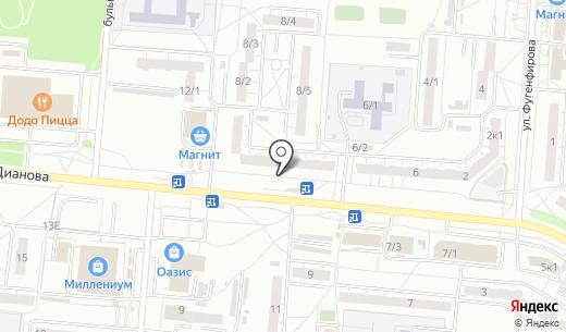 Пив & ко. Схема проезда в Омске