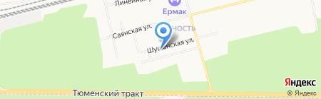Танюша на карте Сургута
