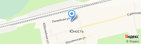Средняя общеобразовательная школа №15 на карте Сургута