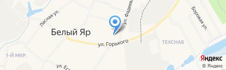 Белоярский спортивный комплекс на карте Барсово