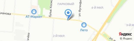 Арсенал Дверей на карте Омска