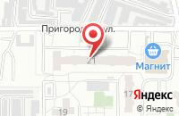 Схема проезда до компании СветаДар в Омске
