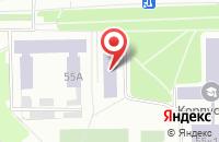 Схема проезда до компании Эф-Тек в Омске