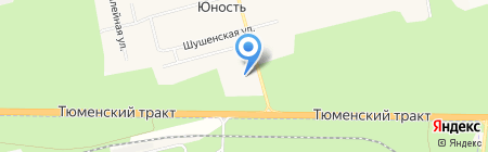 Алюр на карте Сургута
