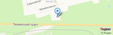 Континент на карте Сургута