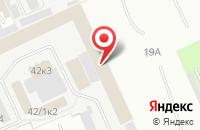 Схема проезда до компании Мир в Омске