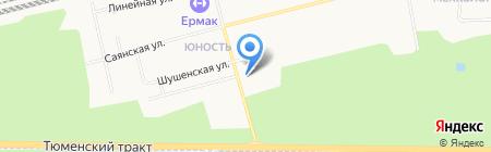Искра на карте Сургута