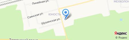 Антонио на карте Сургута
