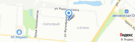 Ломбард Иволга на карте Омска