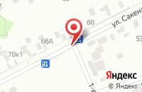 Схема проезда до компании Си Джи Пресс в Пушкино