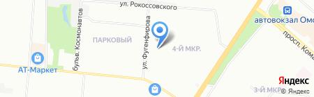 На Фугенфирова на карте Омска