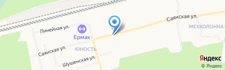 Защита Север на карте Сургута