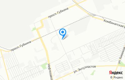 Местоположение на карте пункта техосмотра по адресу г Омск, ул 1-я Заводская, д 21