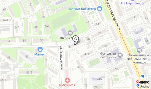 Баггер-Сервис. Схема проезда в Омске