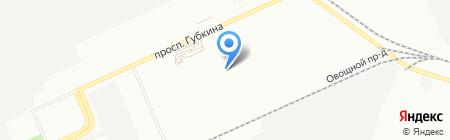 Контактгаз на карте Омска